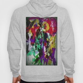 """Abstract """"Too Busy"""" Hoody"""
