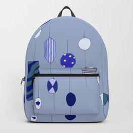 Big blue sweetie beads Backpack