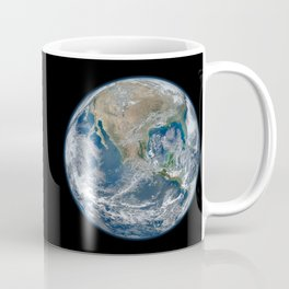 Planet Earth from Above Coffee Mug