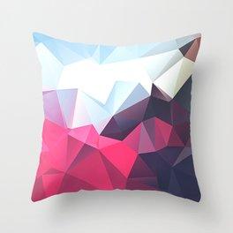 Polygonal Throw Pillow