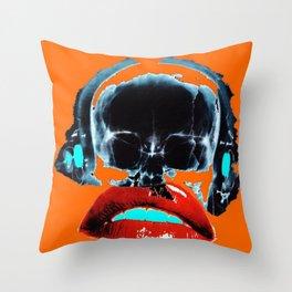 SKULLANDLIPS Throw Pillow