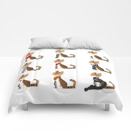 Cats N' Scarfs Comforters