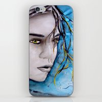 ale giorgini iPhone & iPod Skins featuring Ale by Alux Medina