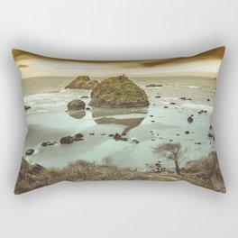 California Ocean West Coast Rectangular Pillow