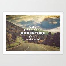 The Greatest Adventure Art Print