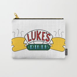 Gilmore Girls/Friends - Luke's Diner at Central Perk Carry-All Pouch