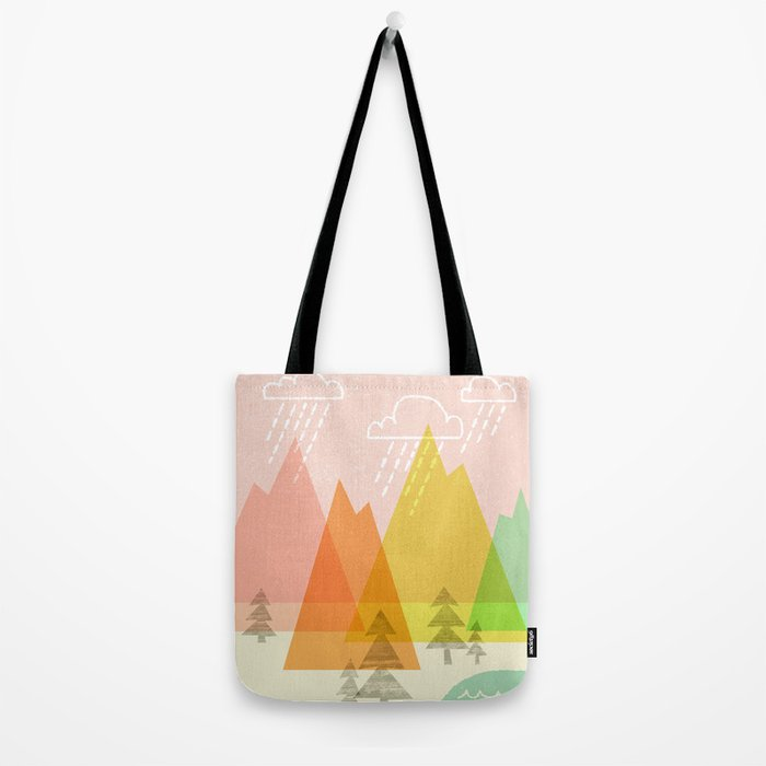 Raindrop Valley Tote Bag
