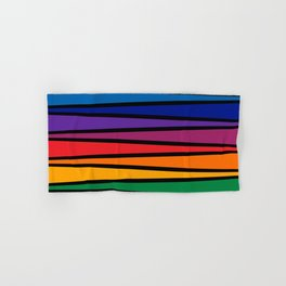 Spectrum Game Board Hand & Bath Towel