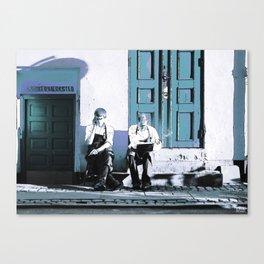 THE BREAK Canvas Print