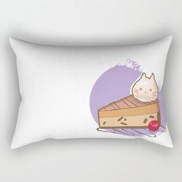 Mirai Maid Cafe Cheesecake Rectangular Pillow