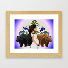 Bear Clan Framed Art Print