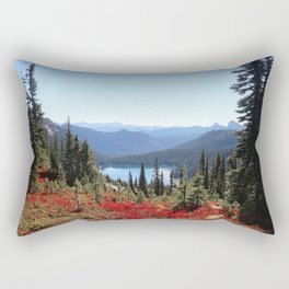 Autumn in the PNW Rectangular Pillow