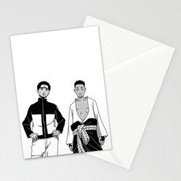 Cole Uzumaki x Kendrick Uchiha Stationery Cards