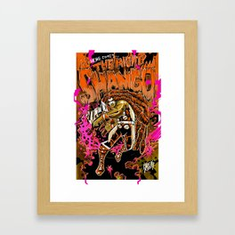 THE MIGHTY SHANGO Framed Art Print
