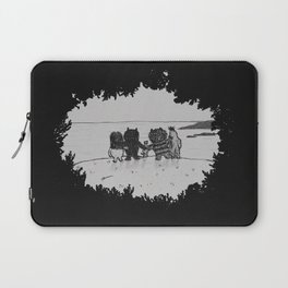 Surrounded By Your Friends Laptop Sleeve