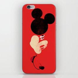 Deconstructing Mickey iPhone Skin