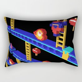 Inside Donkey Kong stage 4 Rectangular Pillow