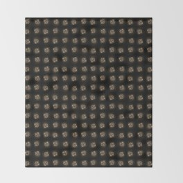 Abstract 17 001b Throw Blanket
