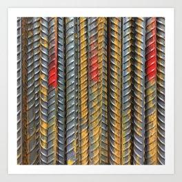 Texture Wire Art Print