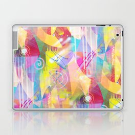 Summer Chaos Painted Laptop & iPad Skin