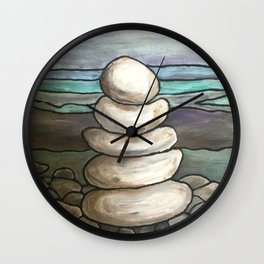 Rockpile Wall Clock