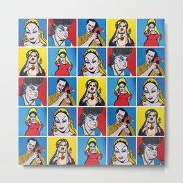 Filthiest Collection | Pop Art Metal Print