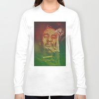 marley Long Sleeve T-shirts featuring Marley by Robotic Ewe