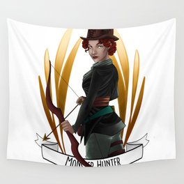 Steampunk Occupation Series: Monster Hunter Wall Tapestry