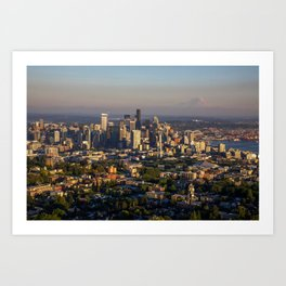 Hello Seattle! Art Print