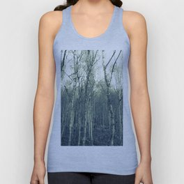 Silver Birches Unisex Tank Top