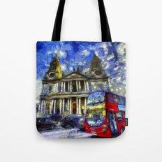 Vincent Van Gogh London Tote Bag
