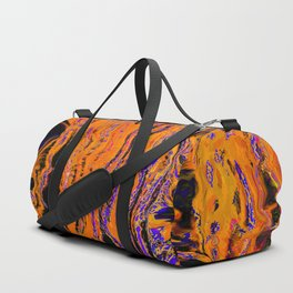 orange flow Duffle Bag