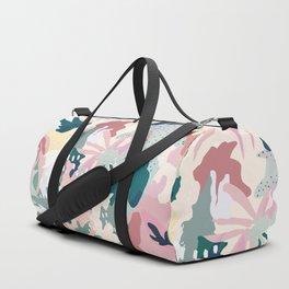 pastel spring Duffle Bag