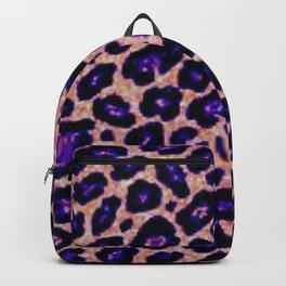 purple cheetah Backpack