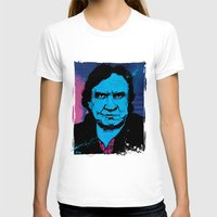johnny cash T-shirts featuring Johnny Cash by Todd Bane