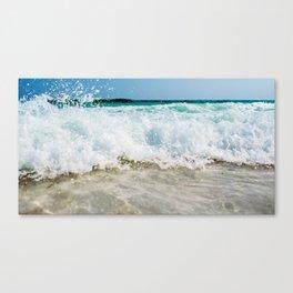 Tropical Summer Beach Canvas Print