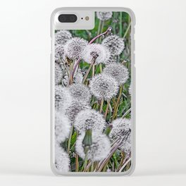SEEDS OF DANDELION Clear iPhone Case