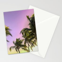 PURPLE AND GOLD SKIES 2 Stationery Cards