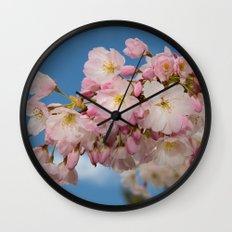 Cherry Blossoms (Edit 2) Wall Clock