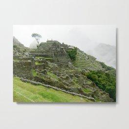 Machu Pichu Metal Print