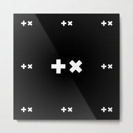 +x Martin Garrix PATTERN Metal Print