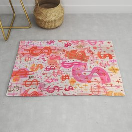 Barbie Money Rug