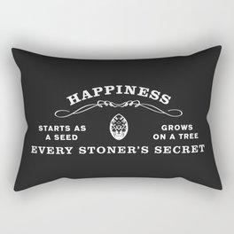 The Secret to Happiness Rectangular Pillow