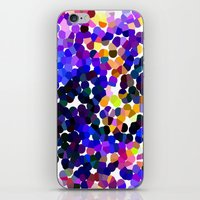 confetti iPhone & iPod Skins featuring Confetti by Art-Motiva