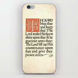 The Lord's Peace iPhone Skin
