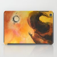wizard iPad Cases featuring Wizard 1 by MassiveTrain