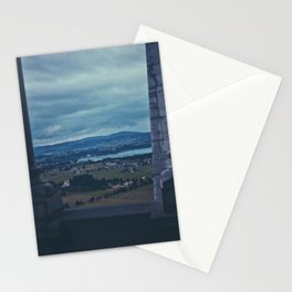 View from Neuschwanstein Stationery Cards