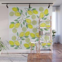Life handed me lemons Wall Mural