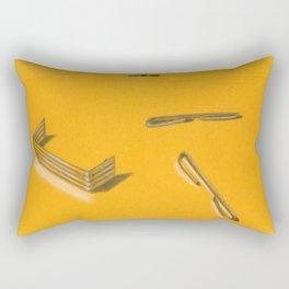 Neurotic Rectangular Pillow