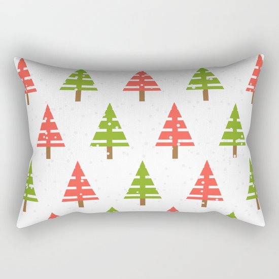 Christmas tree. Rectangular Pillow